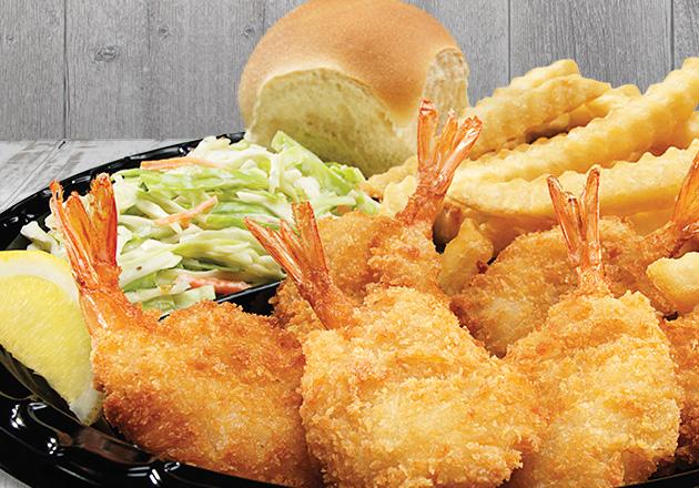 Butterfly Jumbo Shrimp Dinner