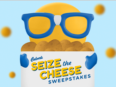 Culver's Seize the Cheese Sweepstakes
