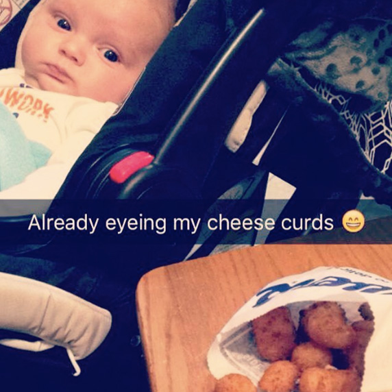 ButterBurger Baby Loves Cheese Curds
