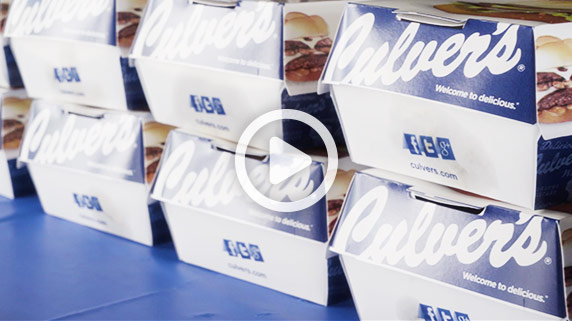 Getting ready to surprise the group with Culver's ButterBurgers