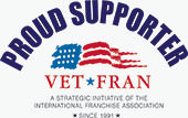 Proud Supporter - Vet Fran - Small business opportunities for veterans