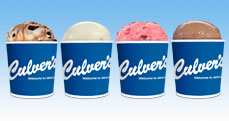 Culver's Frozen Custard Pints