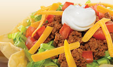 Culver's Taco Salad with Beef