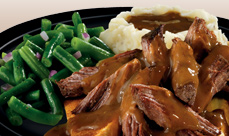 Culver's Beef Pot Roast Dinner
