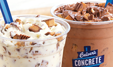 Concrete Mixers with Reese's PB Cups