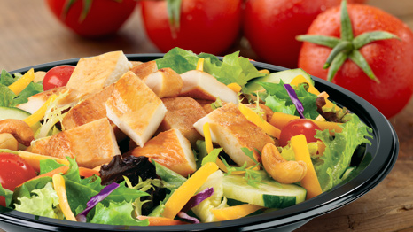 Culver's Chicken Cashew Salad