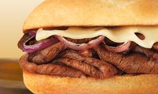 Culver's Shaved Prime Rib Sandwich