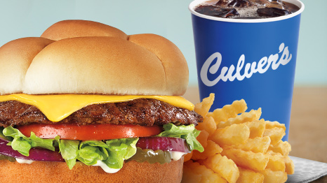 Culver's ButterBurger Cheese Single SnackPak