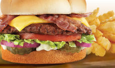 Culver's Bacon Deluxe Single