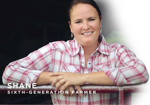 Shane - Sixth-generation farmer