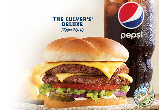 Picture of The Culver's Deluxe. (Recipe No.4)