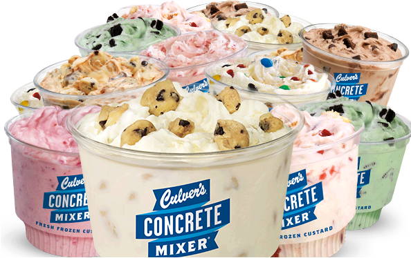 Culver's Concrete Mini Mixers