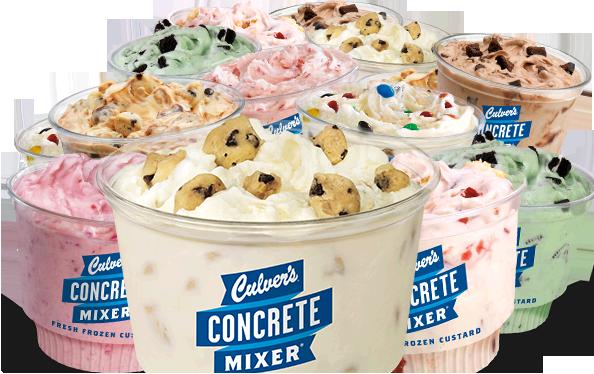 Culver's Concrete Mini Mixers