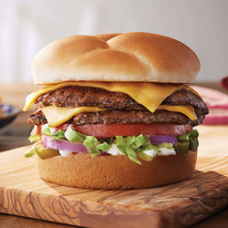 The Culver's Double Deluxe ButterBurger