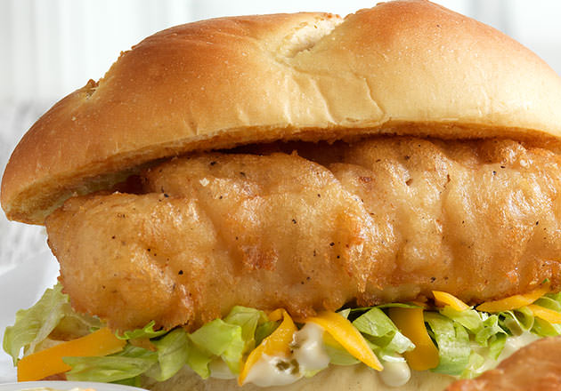 North Atlantic Cod Sandwich