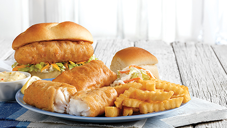 North Atlantic Cod Sandwich & Dinner