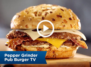 Pepper Grinder Pub Burger