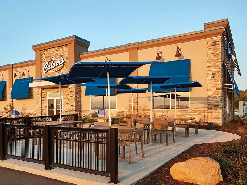 Culver's exterior in daylight