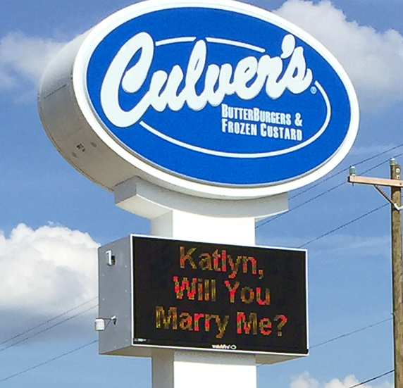 Katlyn, Will You Marry Me?