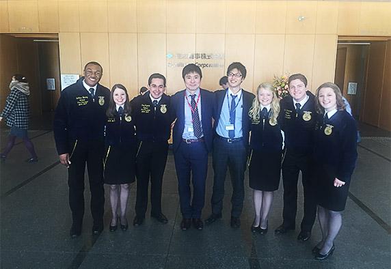 FFA Members in Japan.